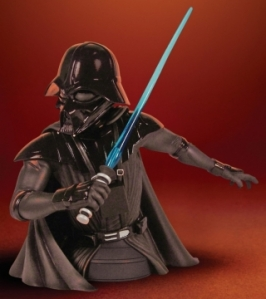 Star Wars Darth Vader (McQuarry concept) mini-bust, Limited Edition: 2500 pieces  $75.00, available exclusively at Comic-Con
