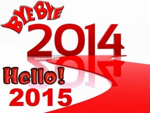 Goodbye 2014 Hello 2015 HD Wallpaper Images Pictures