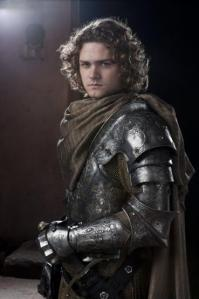 Finn Jones as Loras Tyrell in HBO's Game of Thrones